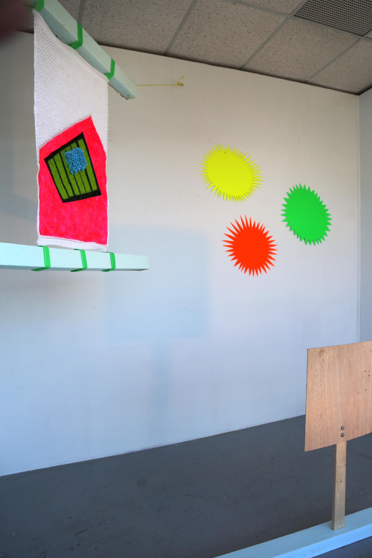 Expérimentations menées en atelier par Kate Lepper en résidence