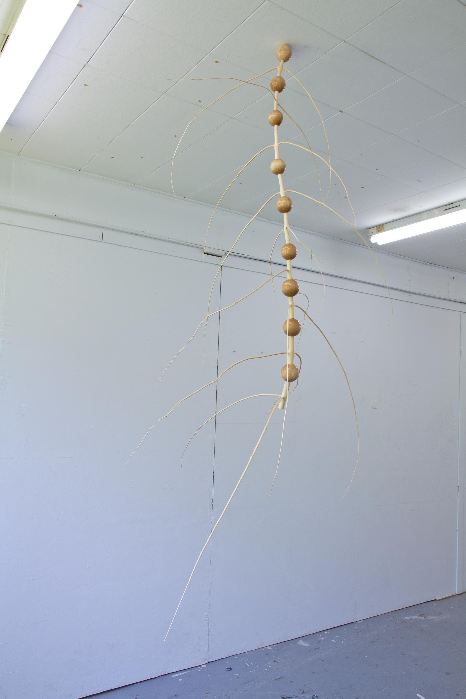 Expérimentation menée en atelier par Joo-Hee Yang en résidence