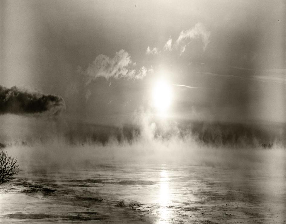 Alain Lefort, Lac St-Louis, 2020, épreuve numérique, 106,5cm x 136cm.