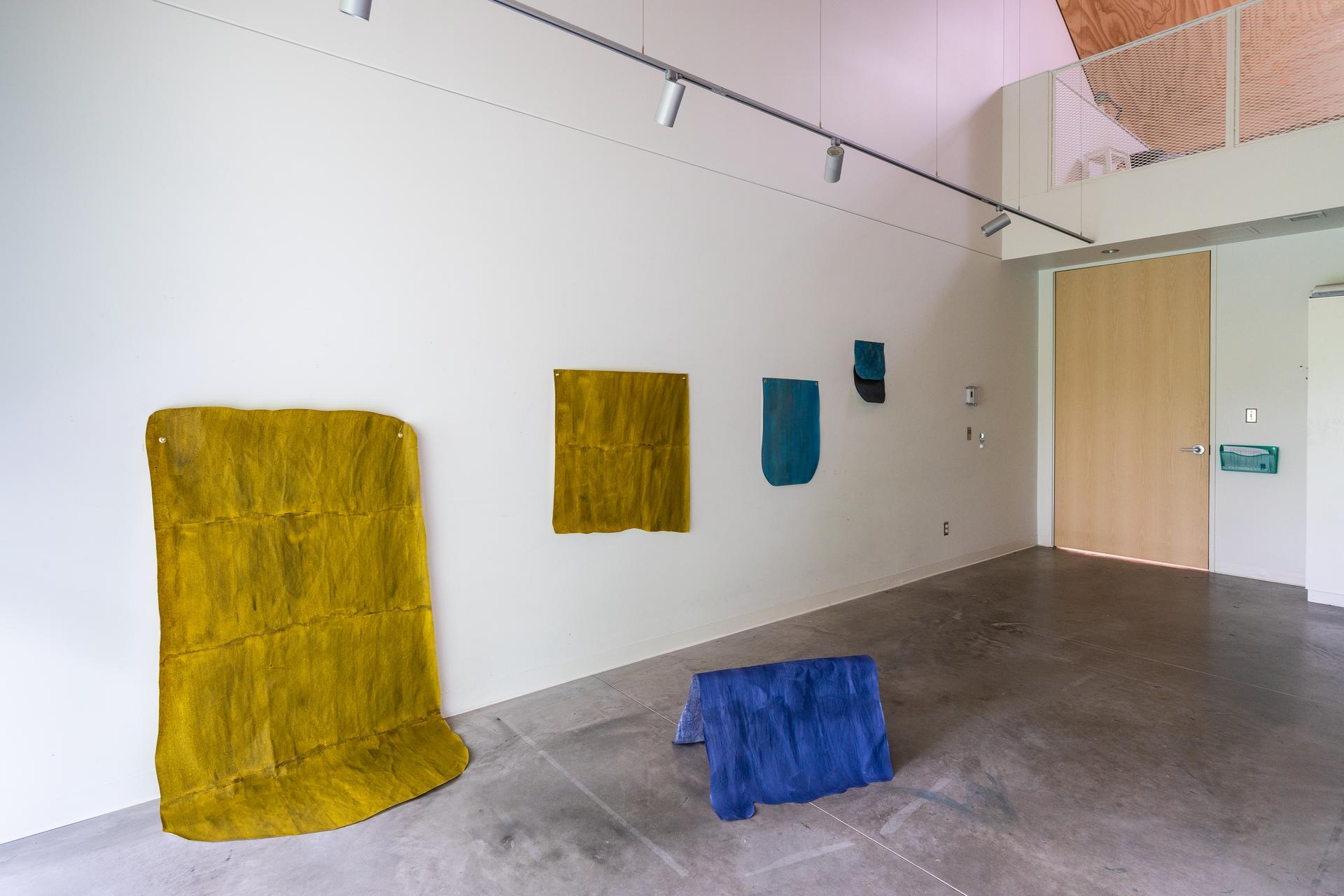 Vue d'atelier de Stéphanie Auger