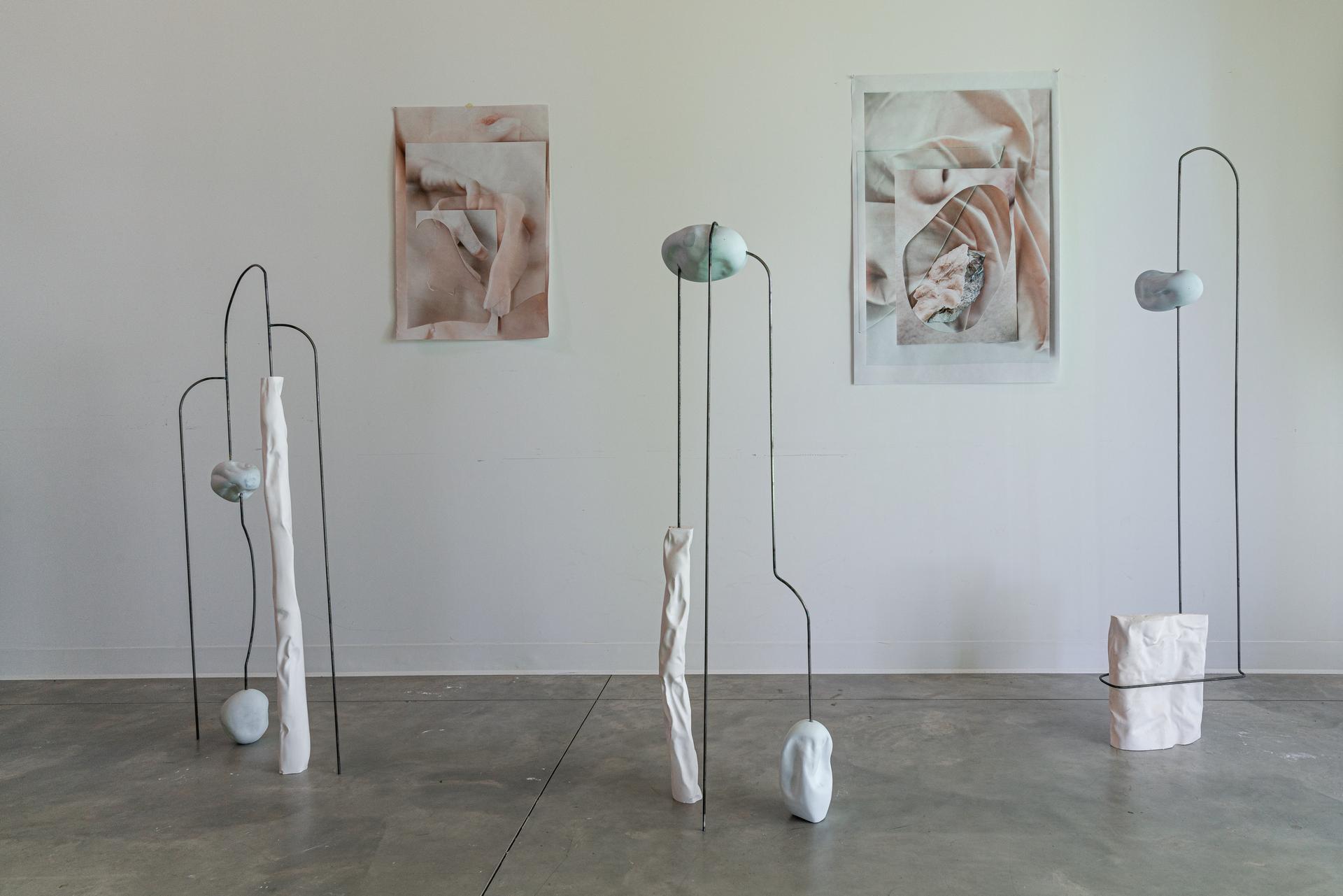 Vue de l'atelier de Caroline Mauxion